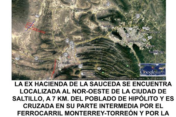 Foto de terreno habitacional en venta en  , san juan de sauceda, ramos arizpe, coahuila de zaragoza, 17786240 No. 03