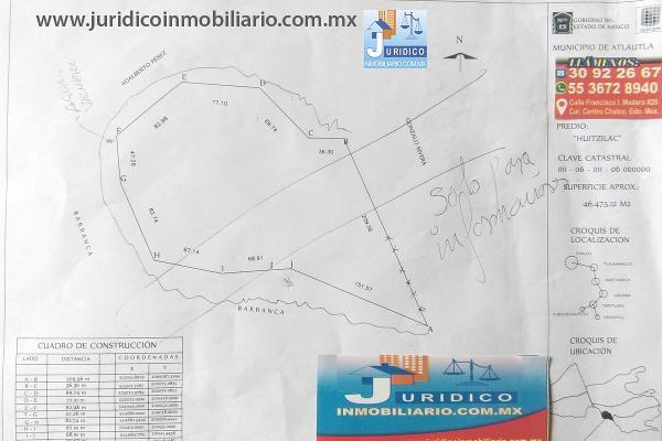 Foto de terreno habitacional en venta en  , san juan tehuixtitlán centro, atlautla, méxico, 5371448 No. 36