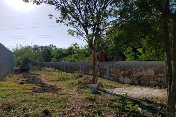 Foto de terreno habitacional en venta en  , san lázaro, umán, yucatán, 8101556 No. 02