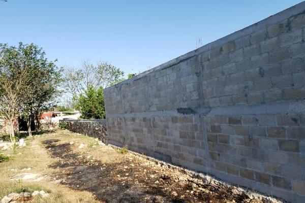 Foto de terreno habitacional en venta en  , san lázaro, umán, yucatán, 8101556 No. 03