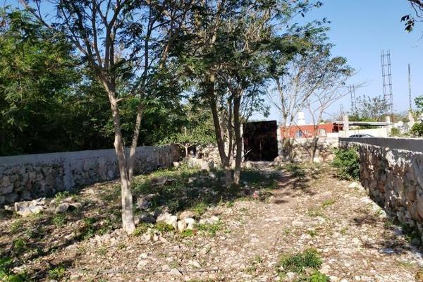 Foto de terreno habitacional en venta en  , san lázaro, umán, yucatán, 8101556 No. 04