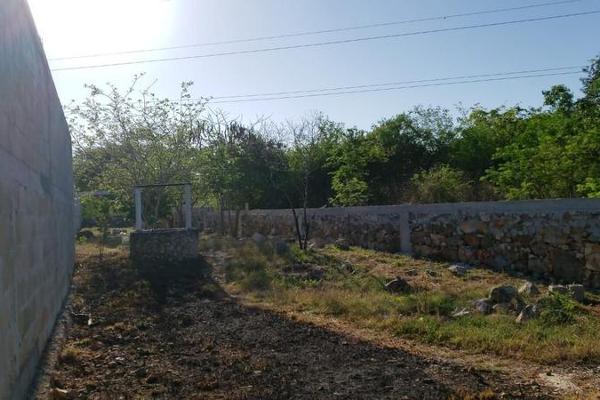 Foto de terreno habitacional en venta en  , san lázaro, umán, yucatán, 8101556 No. 09