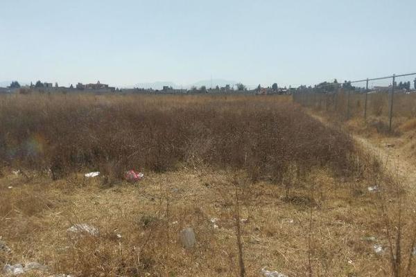 Foto de terreno comercial en venta en  , san lorenzo coacalco, metepec, méxico, 7872037 No. 01