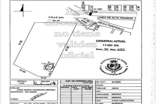 Foto de terreno habitacional en venta en  , san marcos nocoh, mérida, yucatán, 7923042 No. 04