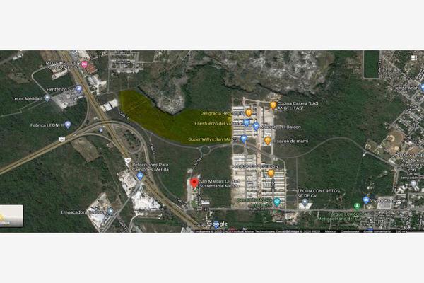 Foto de terreno habitacional en venta en san marcos , san marcos nocoh, mérida, yucatán, 16766745 No. 01