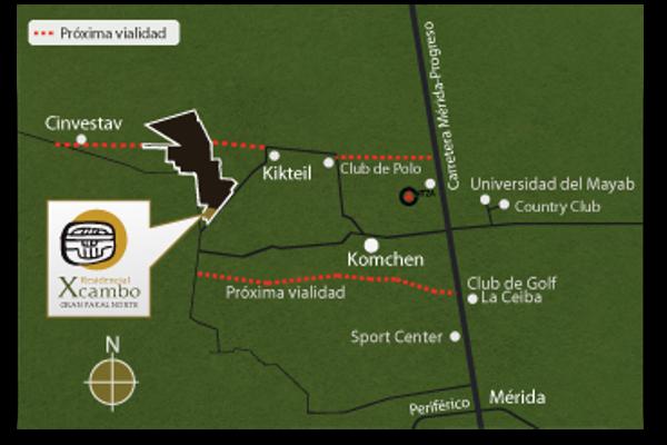 Foto de terreno habitacional en venta en san matías cosgaya , cosgaya, mérida, yucatán, 3675864 No. 04