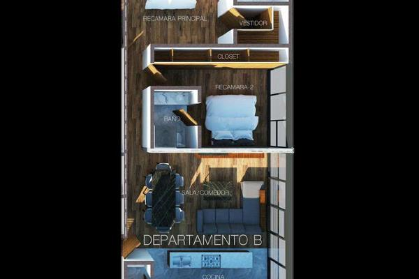 Foto de departamento en venta en  , san miguel chapultepec ii sección, miguel hidalgo, df / cdmx, 17569095 No. 06