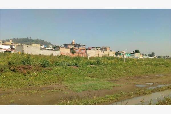 Foto de terreno habitacional en venta en . ., san miguel, metepec, méxico, 5691384 No. 01