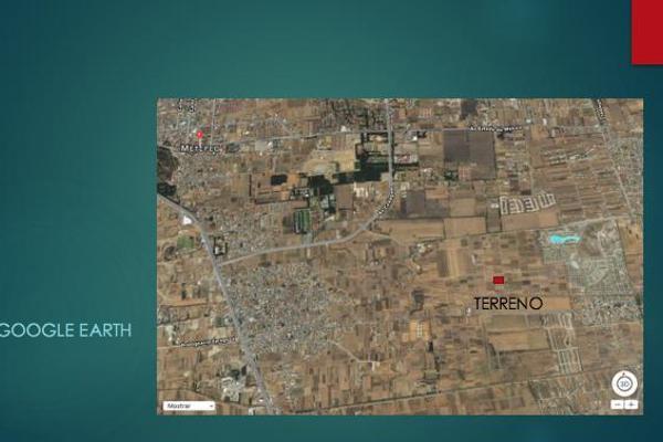 Foto de terreno habitacional en venta en  , san miguel totocuitlapilco, metepec, méxico, 7913206 No. 04