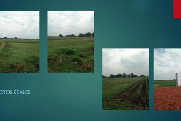 Foto de terreno habitacional en venta en  , san miguel totocuitlapilco, metepec, méxico, 7913221 No. 01