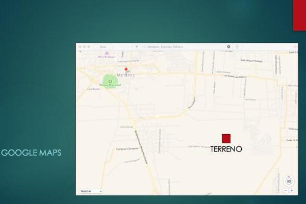 Foto de terreno habitacional en venta en  , san miguel totocuitlapilco, metepec, méxico, 7913221 No. 03