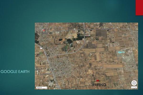 Foto de terreno habitacional en venta en  , san miguel totocuitlapilco, metepec, méxico, 7913221 No. 04