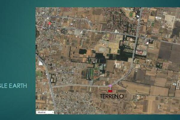 Foto de terreno habitacional en venta en  , san miguel totocuitlapilco, metepec, méxico, 7913346 No. 01