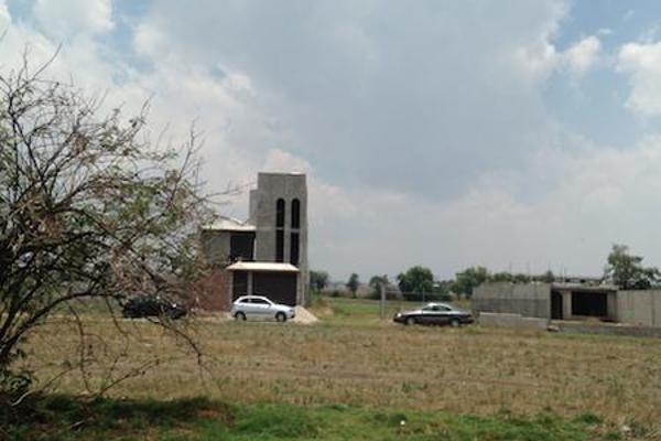 Foto de terreno habitacional en venta en  , san miguel totocuitlapilco, metepec, méxico, 7913346 No. 06