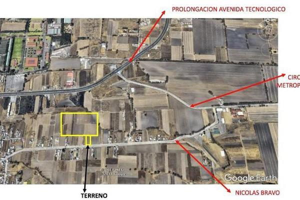 Foto de terreno habitacional en venta en  , san miguel totocuitlapilco, metepec, méxico, 7913425 No. 13
