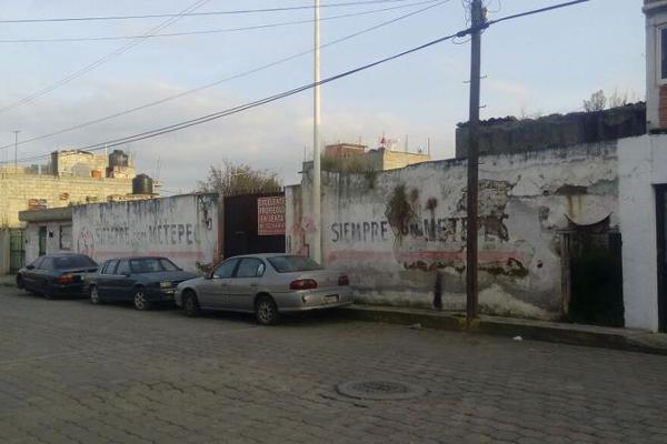 Foto de terreno habitacional en venta en  , san miguel totocuitlapilco, metepec, méxico, 7913445 No. 03