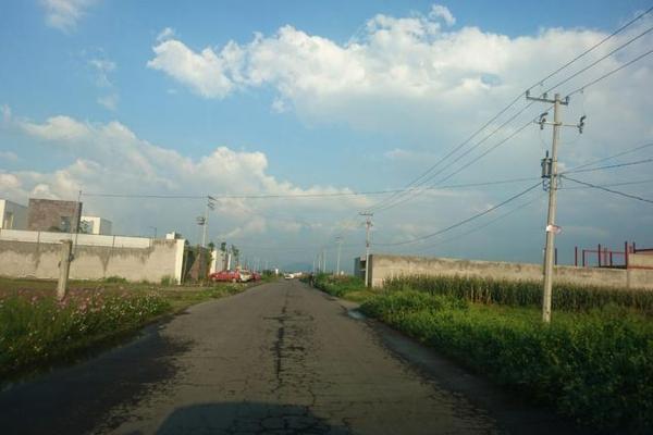 Foto de terreno habitacional en venta en  , san miguel totocuitlapilco, metepec, méxico, 7913645 No. 01