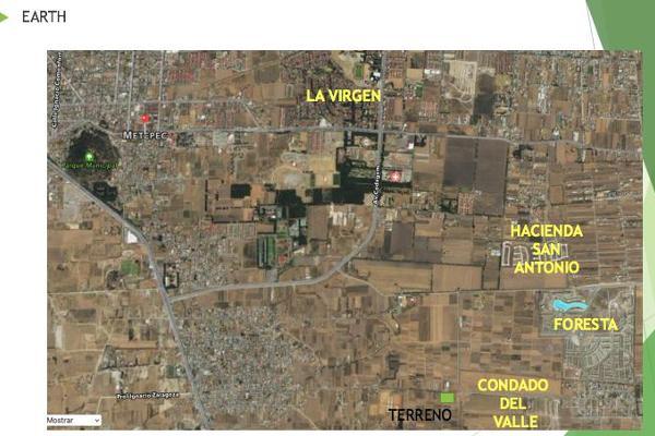 Foto de terreno habitacional en venta en  , san miguel totocuitlapilco, metepec, méxico, 7913645 No. 05