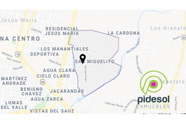 Foto de terreno habitacional en venta en  , san miguelito, jesús maría, aguascalientes, 5859933 No. 01