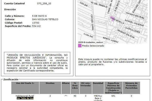 Foto de casa en venta en  , san nicolás tetelco, tláhuac, df / cdmx, 0 No. 35