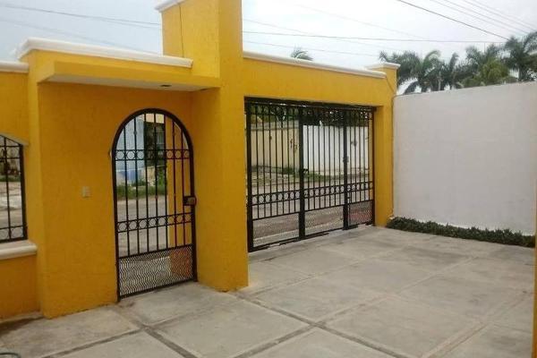 Foto de casa en venta en  , san pedro cholul, mérida, yucatán, 7975013 No. 01