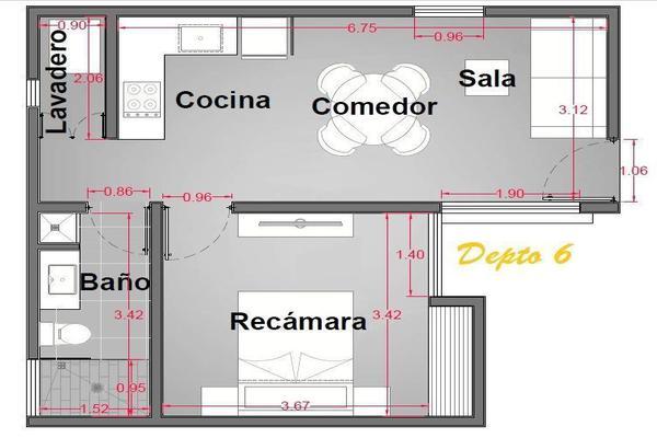 Foto de departamento en venta en  , san ramon norte i, mérida, yucatán, 19813526 No. 07