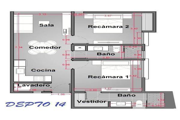 Foto de departamento en venta en  , san ramon norte i, mérida, yucatán, 19813534 No. 08