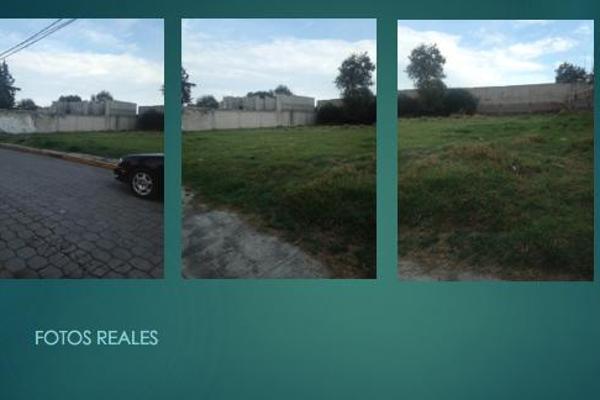 Foto de terreno habitacional en venta en  , san salvador, toluca, méxico, 7913515 No. 01