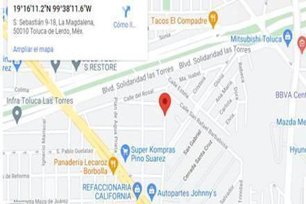 Foto de terreno habitacional en venta en  , san sebastián, toluca, méxico, 0 No. 02