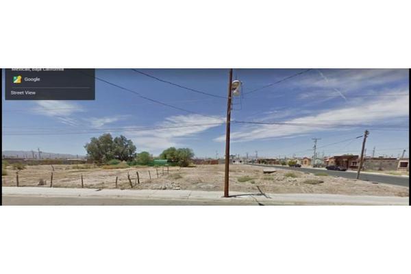 Foto de terreno habitacional en venta en  , santa cecilia, mexicali, baja california, 0 No. 01