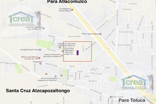 Foto de terreno habitacional en venta en  , santa cruz atzcapotzaltongo centro, toluca, méxico, 11726455 No. 02