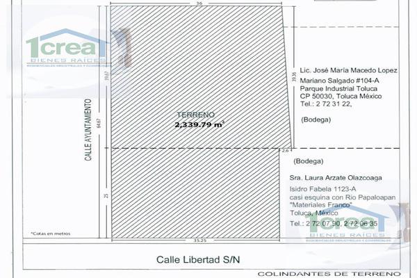 Foto de terreno habitacional en venta en  , santa cruz atzcapotzaltongo centro, toluca, méxico, 11726455 No. 04