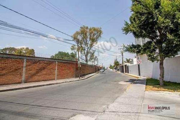 Foto de terreno habitacional en venta en  , santa cruz buenavista, puebla, puebla, 8854038 No. 14