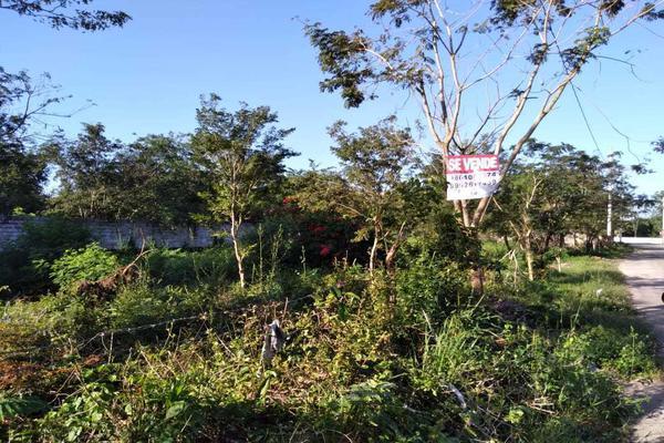 Foto de terreno habitacional en venta en  , santa cruz, tizimín, yucatán, 19948576 No. 01