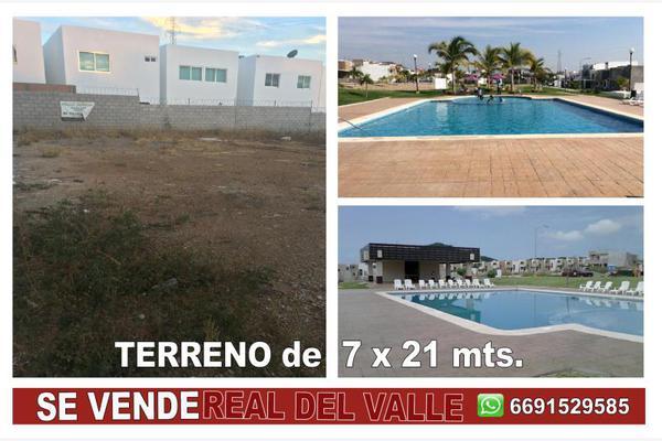 Foto de terreno habitacional en venta en santa eduviges 1, real del valle, mazatlán, sinaloa, 5344409 No. 02