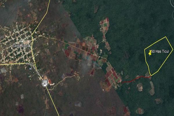 Foto de terreno habitacional en venta en  , santa elena, santa elena, yucatán, 8321921 No. 04