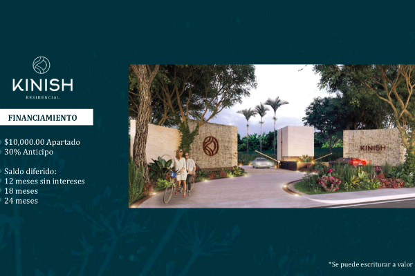 Foto de terreno habitacional en venta en  , santa gertrudis copo, mérida, yucatán, 14027826 No. 02