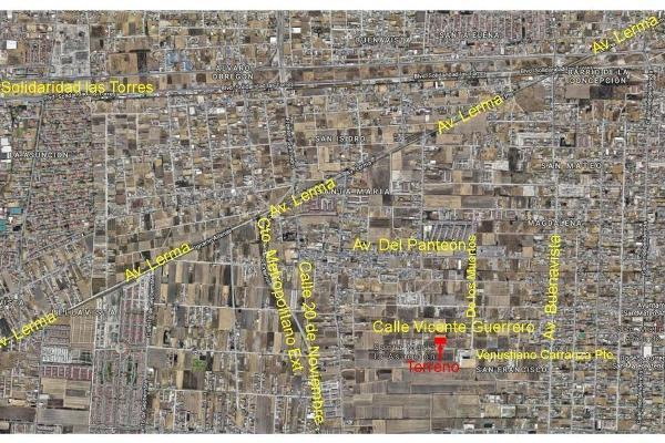 Foto de terreno habitacional en venta en  , santa maría, san mateo atenco, méxico, 6186580 No. 12