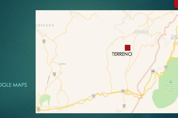 Foto de terreno habitacional en venta en  , santa maría tlalmimilolpan, lerma, méxico, 7913216 No. 04