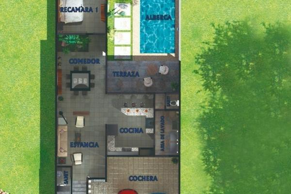Foto de casa en venta en  , santa rita cholul, mérida, yucatán, 14027950 No. 09
