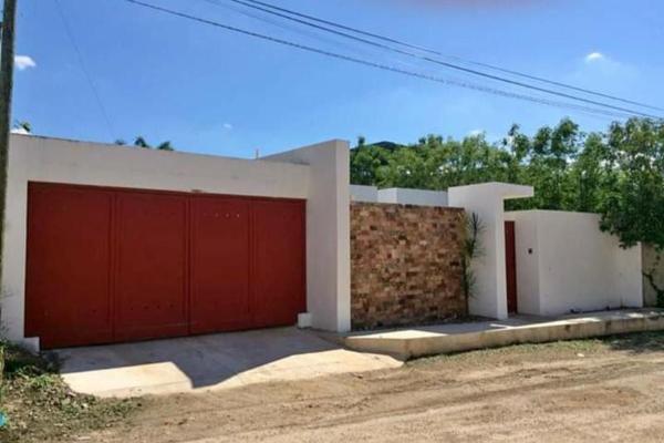 Foto de casa en venta en  , santa rita cholul, mérida, yucatán, 7974601 No. 01