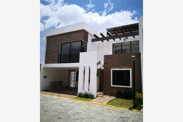 Foto de casa en venta en  , santiago cholula infonavit, san pedro cholula, puebla, 5399645 No. 01
