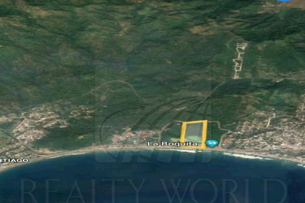 Foto de terreno habitacional en venta en  , santiago, manzanillo, colima, 7301878 No. 01