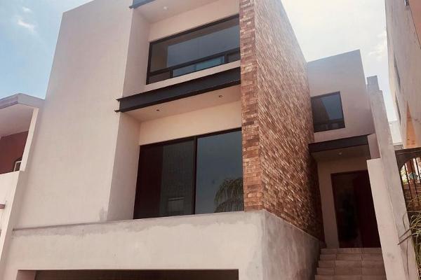 Foto de casa en venta en  , satélite acueducto 7 sector, monterrey, nuevo león, 7958165 No. 01