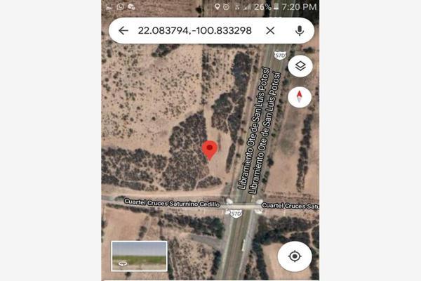 Foto de terreno habitacional en venta en saturnino cedillo 78899, villa de pozos, san luis potosí, san luis potosí, 19266419 No. 02