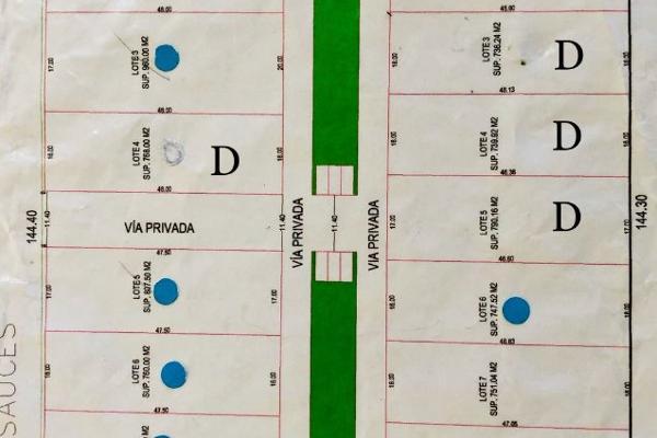 Foto de terreno habitacional en venta en sauces s/n , llano grande, metepec, méxico, 5677637 No. 08
