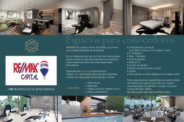 Foto de casa en renta en savant living , desarrollo habitacional zibata, el marqués, querétaro, 8381319 No. 21