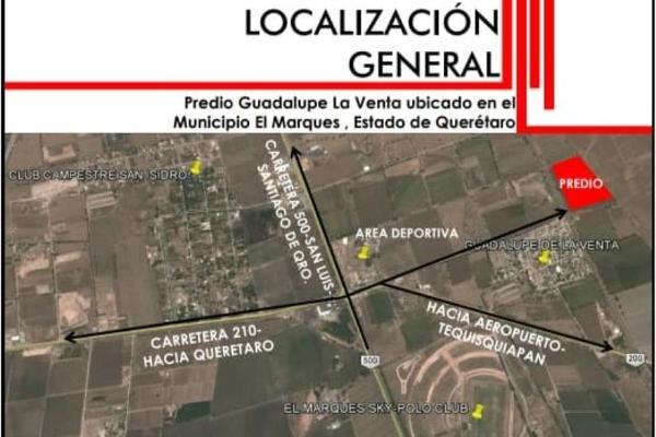 Foto de terreno habitacional en venta en s/c , guadalupe la venta, el marqués, querétaro, 5962875 No. 03
