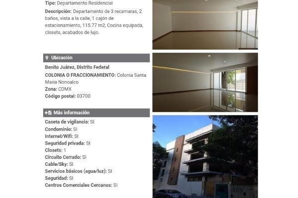 Foto de departamento en venta en s/c , mixcoac, benito juárez, df / cdmx, 13294987 No. 09