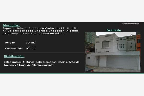 Foto de departamento en venta en segundo retorno fabrica de cartuchos 51, lomas del chamizal, cuajimalpa de morelos, df / cdmx, 8183431 No. 01
